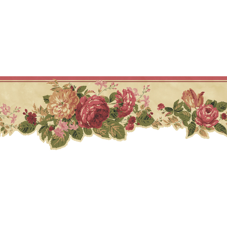 vintage rose border free wallpaper