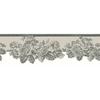 allen + roth 5.75-in Metallic Prepasted Wallpaper Border