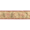 allen + roth 5.13-in Red Prepasted Wallpaper Border