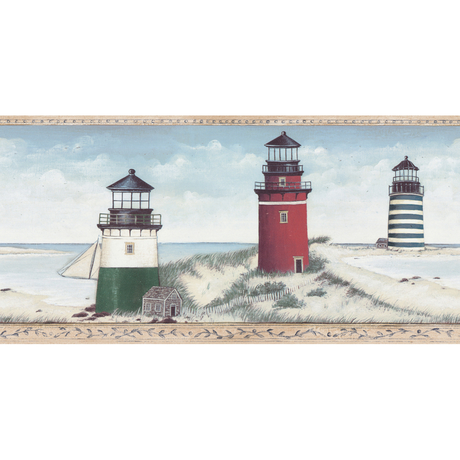 lighthouse wallpaper border