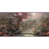 allen + roth 10.25-in Purple Prepasted Wallpaper Border