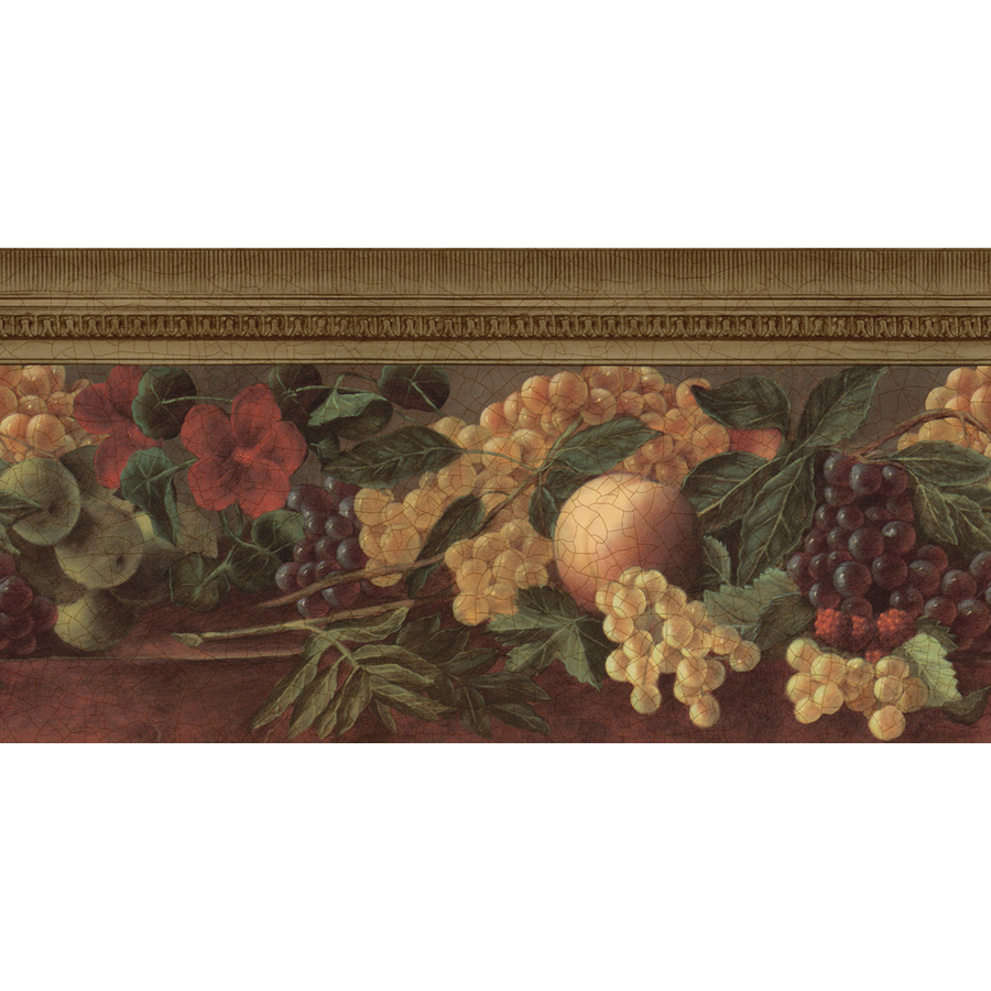 Kitchen Wallpaper Border Similiar Allen Roth Wallpaper Border Fruit Keywords