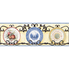 allen + roth 9-in Prepasted Wallpaper Border