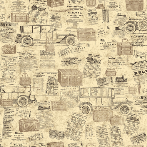 cars wallpaper border. allen + roth Neutral Antique Cars Wallpaper Border in Sacramento | sacbee.com