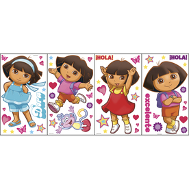 Nickelodeon 71-Pack Kids-General Appliques/Wall Stickers LW1342876