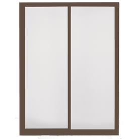BetterBilt Dual-Pane Grid Aluminum Sliding  Patio Door