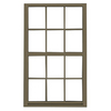 BetterBilt 3740 Series Aluminum Double Pane Single Strength New Construction Egress Single Hung Window (Rough Opening: 37-in x 63-in; Actual: 37-in x 63-in)