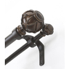 allen + roth 72-in to 144-in Darjeeling Metal Double Curtain Rod