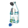 Umbra 13.25-in H Plastic Tension Pole Freestanding Shower Caddy
