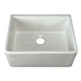 Barclay Single-Basin Fireclay Apron Front Kitchen Sink
