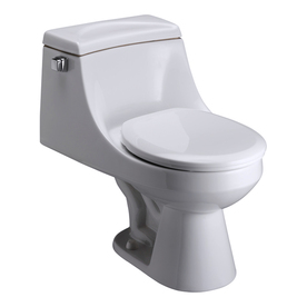 Barclay Vogue White 1.6-GPF (6.06-LPF) 12-in Rough-In Round Standard Height Toilet