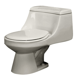 Barclay Vogue Bisque 1.6 GPF Round 1-Piece Toilet