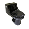 Barclay Vogue Black 1.6 GPF Round 1-Piece Toilet