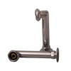 Barclay 6-in Elbows for Rim Mtd Faucets-Chrome