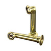 Barclay 6-in Elbows for Rim Mounted Faucets-Polished Brass