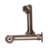 Barclay 6-in Elbows for Rim Mtd Faucets-Brushed Nickel