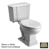 Barclay Constitution Bisque 1.6 GPF Round 2-Piece Toilet