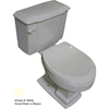 Barclay Constitution Bisque 1.6 GPF Elongated 2-Piece Toilet