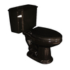 Barclay Vicki Black 1.6 GPF Elongated 2-Piece Toilet