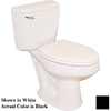 Barclay Newberry Black 1.6 GPF Elongated 2-Piece Toilet