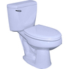 Barclay Newberry White 1.6 GPF Elongated 2-Piece Toilet