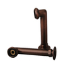Barclay 6-in Elbows for Rim Mtd Faucets-Oil Rubbed Brz
