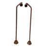 Barclay 2-Pack 24-in Copper Faucet Supply Lines