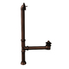 Barclay 1-1/2-in Oil-Rubbed Bronze Lift and Turn with Brass Pipe
