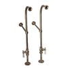 Barclay 2-Pack 1/2-in Fip 30-in Brass Faucet Supply Lines