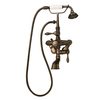 Barclay 3-Handle Adjustable Clawfoot Tub Filler Bathtub Faucet