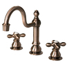 Barclay Cassia Antique Copper 2-Handle Widespread Bathroom Sink Faucet