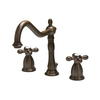 Barclay Roma Oil-Rubbed Bronze 2-Handle Widespread Bathroom Sink Faucet (Drain Included)