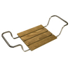 Barclay Stainless Steel Teak Freestanding Shower Seat