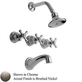 3 Piece Shower Faucet Oil Rubbed Bronze 3 Handle Combination