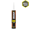 OSI QUAD Quad 10 Oz.-Oz White Unsanded Paintable Solvent-Based Window and Door Caulk