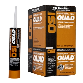 OSI Pro-Series 120-oz Various Colors Paintable Solvent-Based Window and Door Caulk