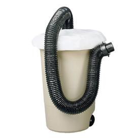 BLACK &amp; DECKER 8-ft Hose and Trash Can Cover Leaf Collection System