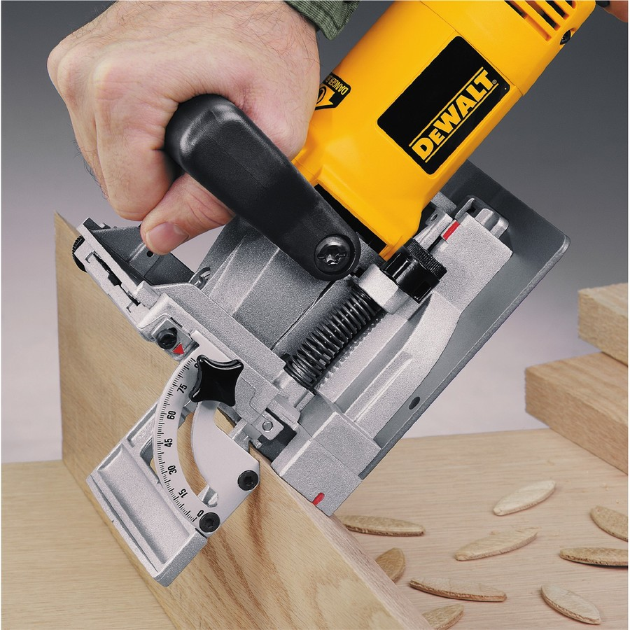 Dewalt 6 5 Amp Biscuit Joiner In The Biscuit Joiners Department At Lowes Com