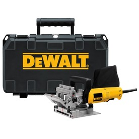 DEWALT 6.5-Amp Biscuit Joiner with Dust Bag