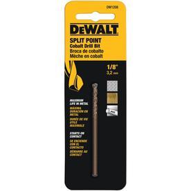 DEWALT 1/8-in Cobalt Twist Drill Bit