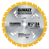 DEWALT Construction 8-1/4-in 24-Tooth Circular Saw Blade