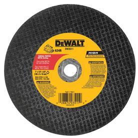 DEWALT 7-in Turbo High-Performance Aluminum Oxide Circular Saw Blade