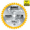 DEWALT Construction 7-1/4-in 36-Tooth Segmented Circular Saw Blade