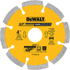 DEWALT 4-In Segmented Diamond Blade