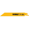 DEWALT 5-Pack 6-in 14-TPI Bi-Metal Reciprocating Saw Blade Set