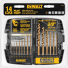 DEWALT 14-Piece Cobalt Metal Twist Drill Bit Set