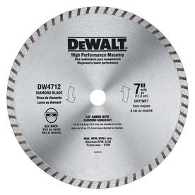DEWALT Construction 7-in Wet or Dry Continuous Diamond Circular Saw Blade