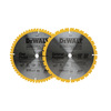 DEWALT 10-in Construction Combo Pack (DW3106 & DW3103) Circular Saw Blade Set