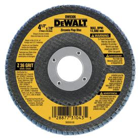 DEWALT 36-Grit 4-1/2-in W x 4-1/2-in L High Performance Abrasive Sandpaper