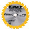 DEWALT Construction 6-1/2-in Segmented Carbide Circular Saw Blade